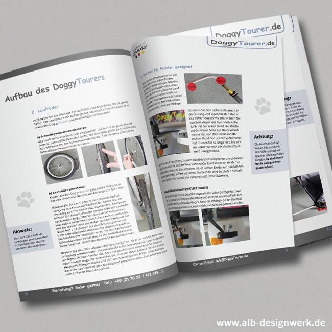 Design, Aufbau, Gestaltung, Druckaufbereitung, Bildbearbeitung