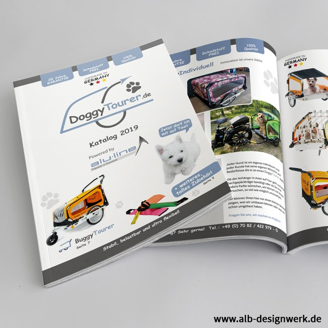 Design, Aufbau, Gestaltung, A5 Broschüre