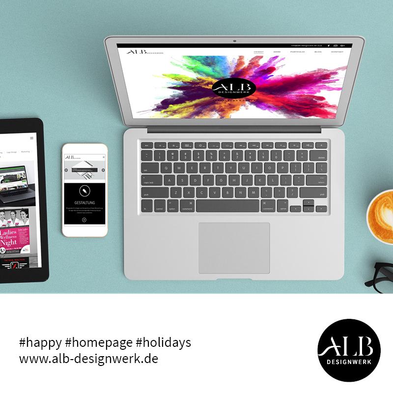 Alb-Desingwerk Webdesign Responsive