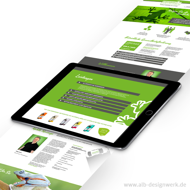 Logo-Design, Corporate Design, Webdesign, Homepage