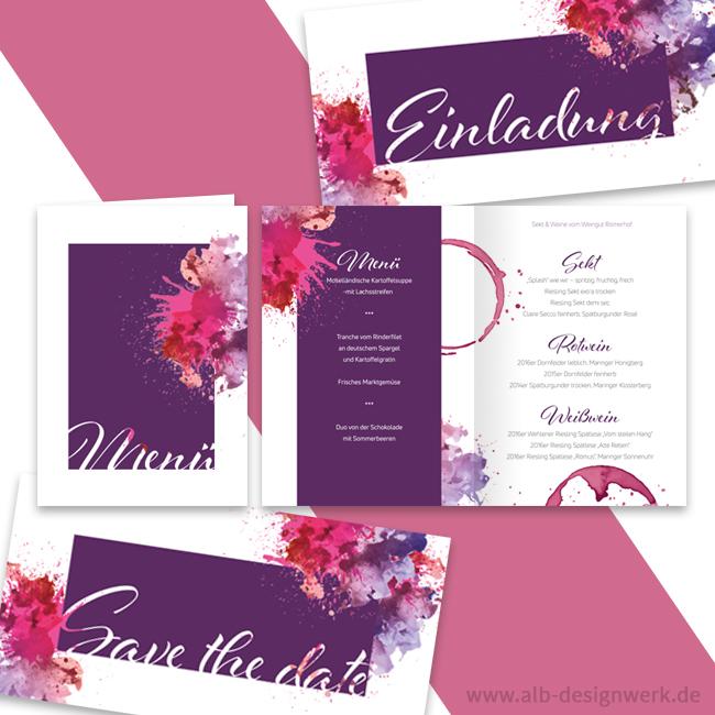 Hochzeitseinladung gestalten Hochzeitskarten