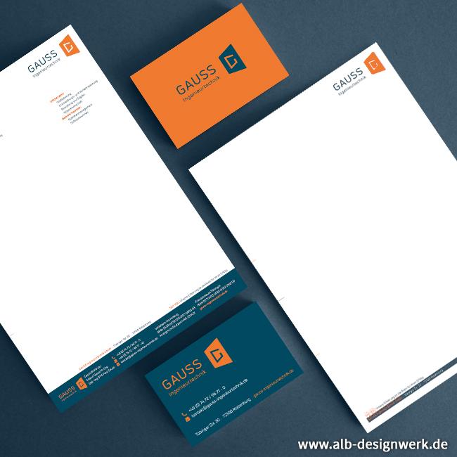 Visitenkarte Briefbogen Sonderfarbe Pantone Gestaltung Design Druck
