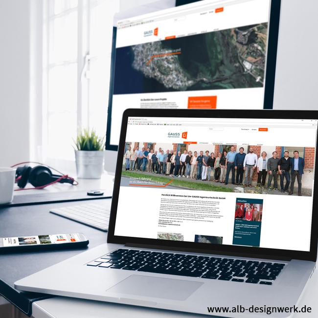Homepage gauss-ingenieurtechnik.de