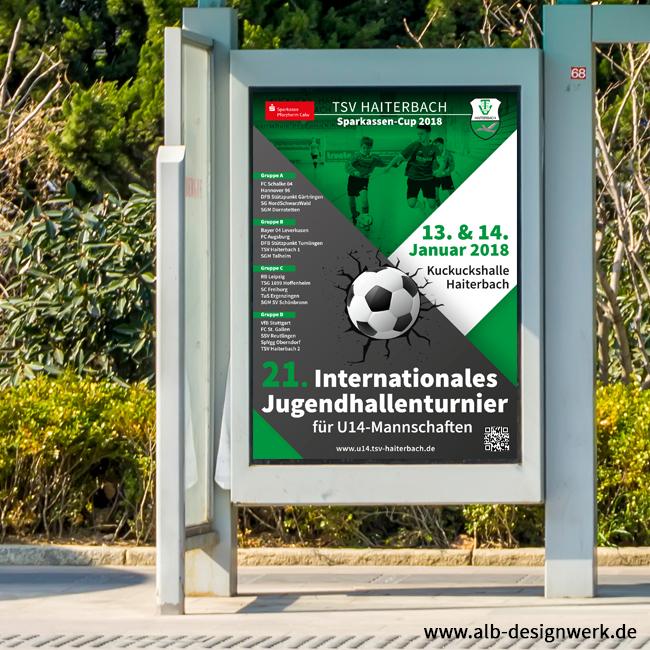 TSV Haiterbach Plakat U14 Hallenturnier international