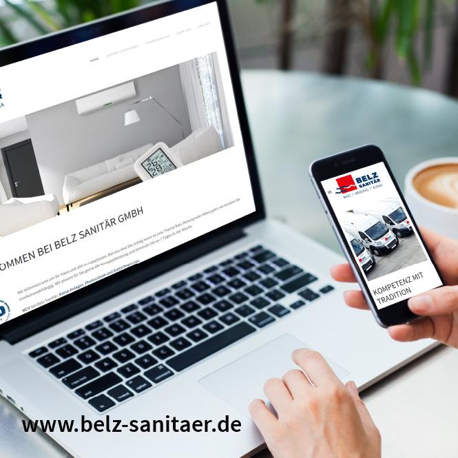 Optimierung Homepage Belz Sanitär